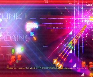 Death Ray Manta: The Videogame Chat