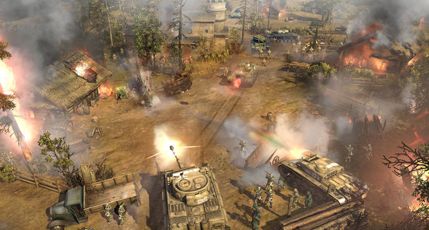 Company of Heroes 2 Theater of War mode preview screenshots