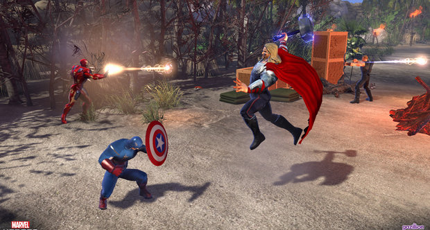 Marvel Heroes open beta screenshots