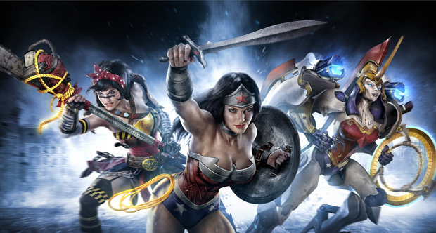 Infinite Crisis 'Wonder Woman' art