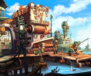 Chaos on Deponia Screenshots