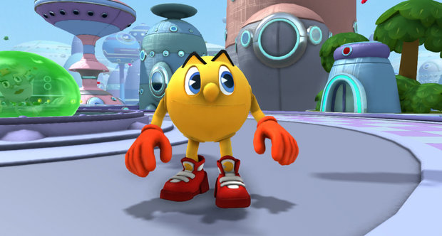Pac-Man and the Ghostly Adventures screens