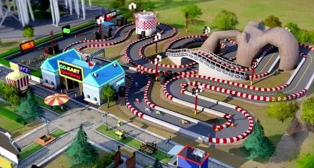 SimCity Amuseument Park Pack screen