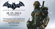 Batman: Arkham Origins to have playable Deathstroke DLC