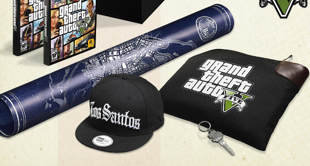 Grand Theft Auto V Collector's Edition topstory image