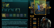 Shadowrun Returns character builder detailed