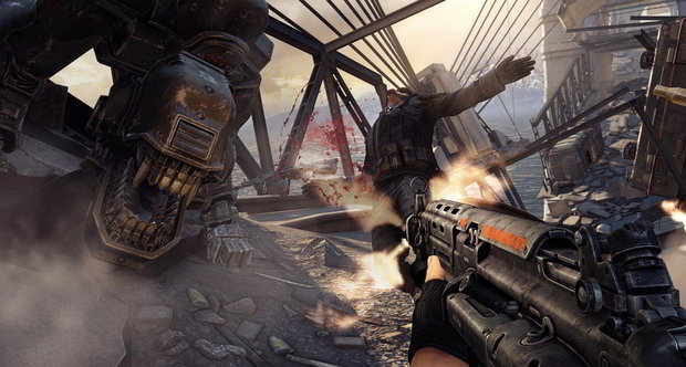 Wolfenstein: The New Order screens