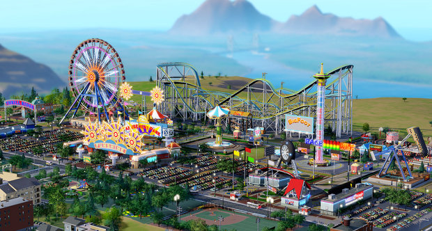 Simcity Amusement Park screenshot