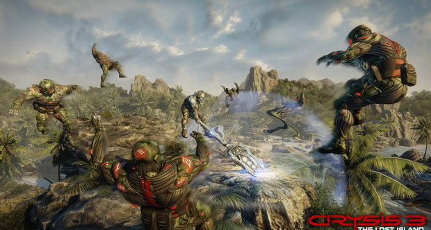 Crysis 3 Lost Island DLC screens