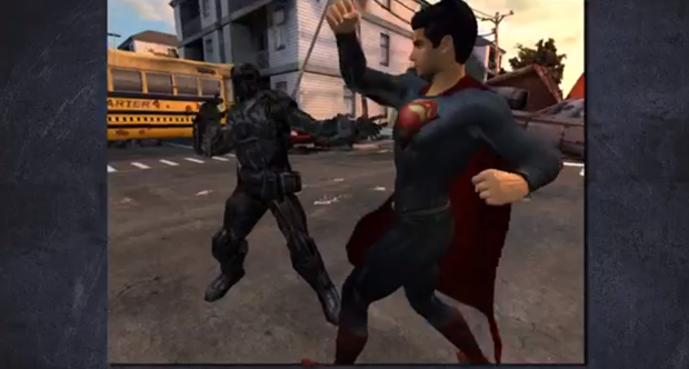 Man of Steel mobile game