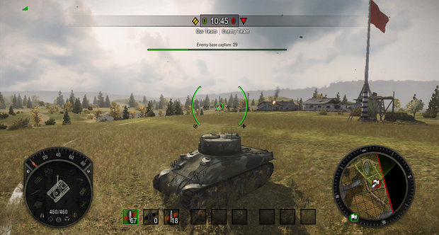 World of Tanks Xbox E3 2013 screenshots