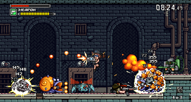 Mercenary Kings E3 2013 screenshots