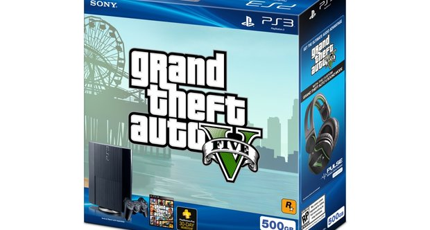 GTAV PS3 bundle