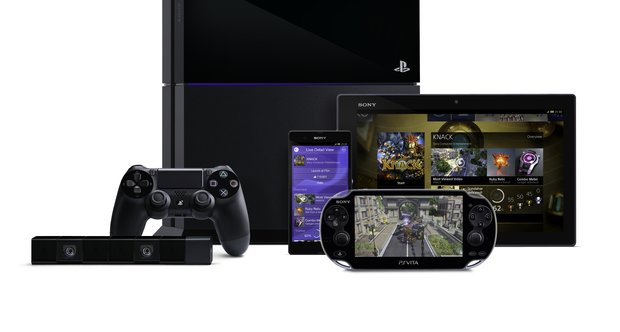 Playstation 4 console shots