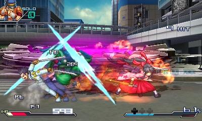 Project X Zone Screenshots