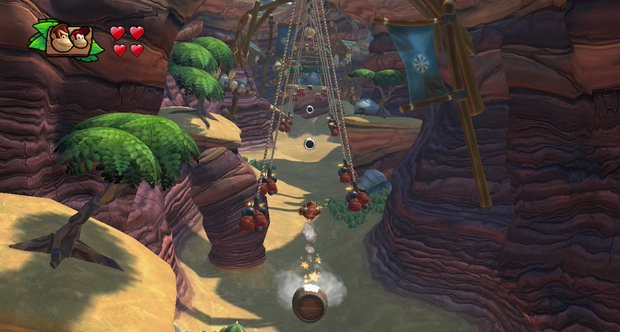 Donkey Kong Country: Tropical Freeze E3 2013 screenshots