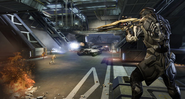 Dust 514 E3 2013 screenshots