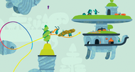Hohokum preview: a whimsical playground for PS3, PS4, and Vita