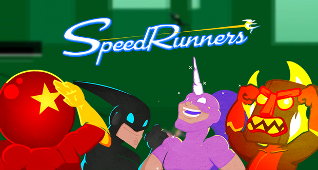 SpeedRunners announcement art