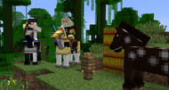 Minecraft version 1.6 adds horsies