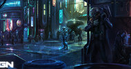Satellite Reign announcement concept art