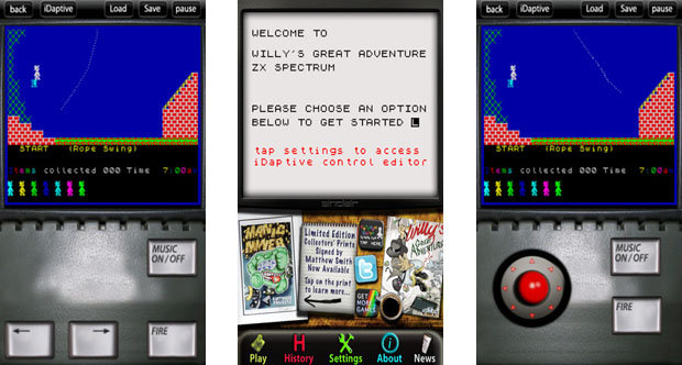 Willy's Great Adventure ZX Spectrum mobile