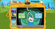 Adventure Time Game Creator lets you create Adventure Time games