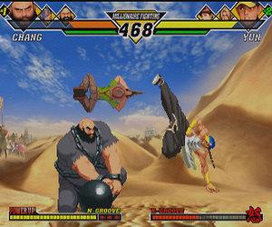 Capcom vs SNK 2 Chat
