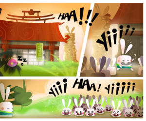Kung Fu Rabbit Screenshots