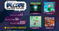 PSN Play 2013 lineup includes four games, up to $10 cashback