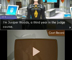 Phoenix Wright: Ace Attorney - Dual Destinies Screenshots