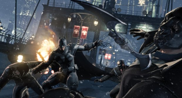 Batman: Arkham Origins SDCC 2013 screenshots