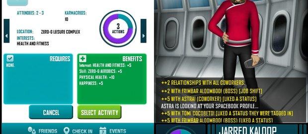 Redshirt alpha screenshots