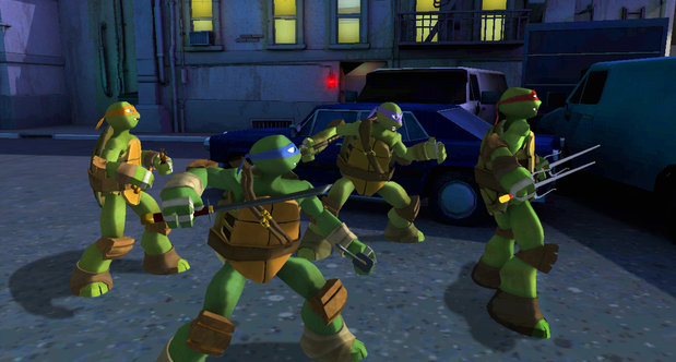 Teenage Mutant Ninja Turtles SDCC 2013 screenshots