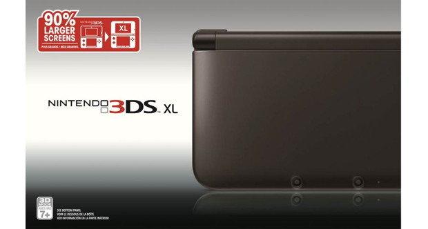 Nintendo 3DS XL back in black | Shacknews