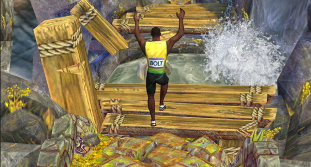 Usain Bolt in Temple Run 2