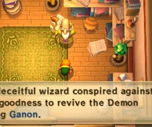 The Legend of Zelda: A Link Between Worlds Chat