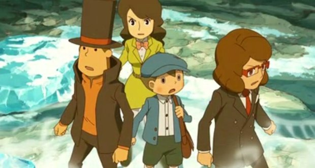 Professor Layton and the Azran Legacy screenshots