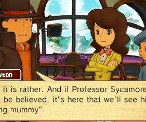 Professor Layton and the Azran Legacy Chat