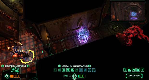 Space Hulk launch screenshots