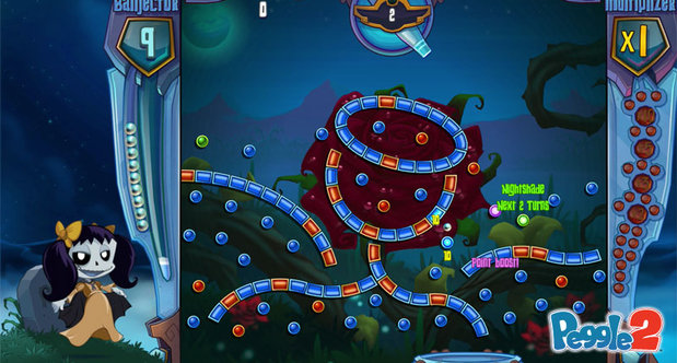 Peggle 2 Gamescom 2013 screenshots