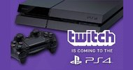 Twitch streaming also coming to PS4