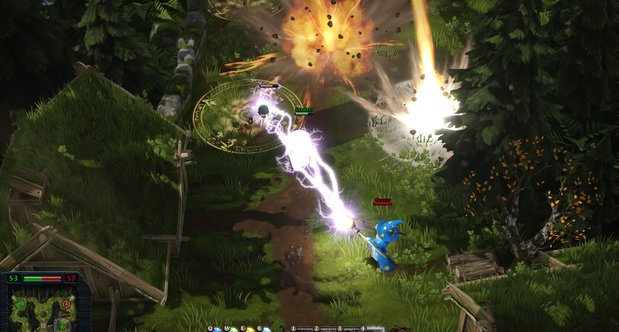 Magicka Wizard Wars Gamescom 2013 screenshots
