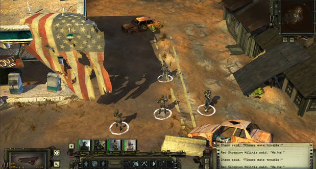 Wasteland 2 Gamescom 2013 screenshots