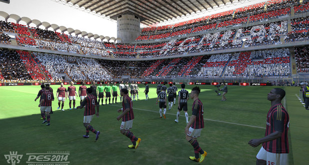 PES 2014 Gamescom 2013 screenshots