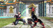 Soulcalibur 2 HD Online includes both Heihachi and Spawn