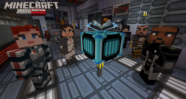 Minecraft: Xbox 360 Edition Mass Effect screenshots