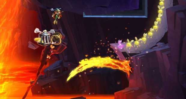 Rayman Legends launch screenshots