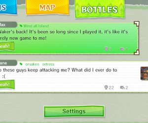 The Legend of Zelda: The Wind Waker HD Chat