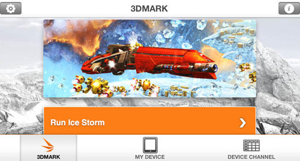 3DMark iOS screenshot